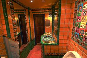 Restaurace Cantina, pánské WC